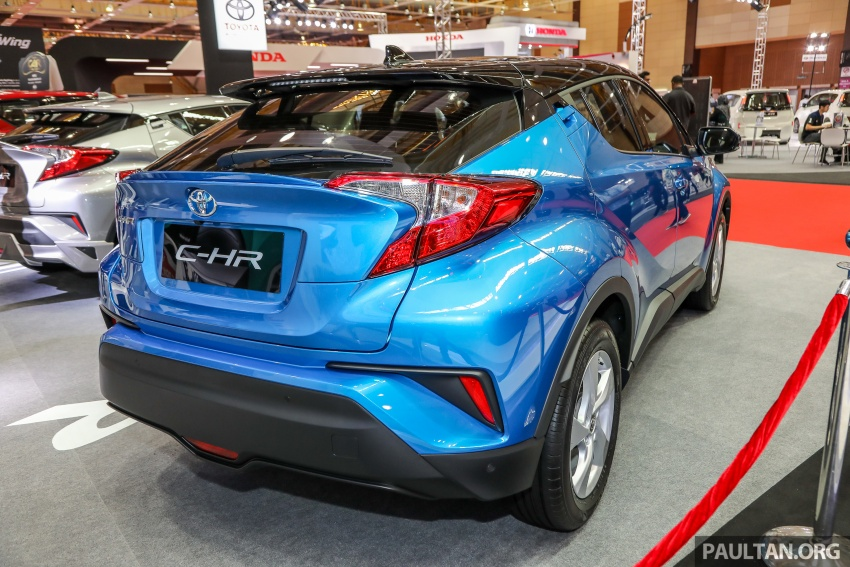 Toyota C-HR Malaysian spec previewed – CBU from Thailand, 141 PS 1.8 litre NA engine, 2018 launch Image #735284