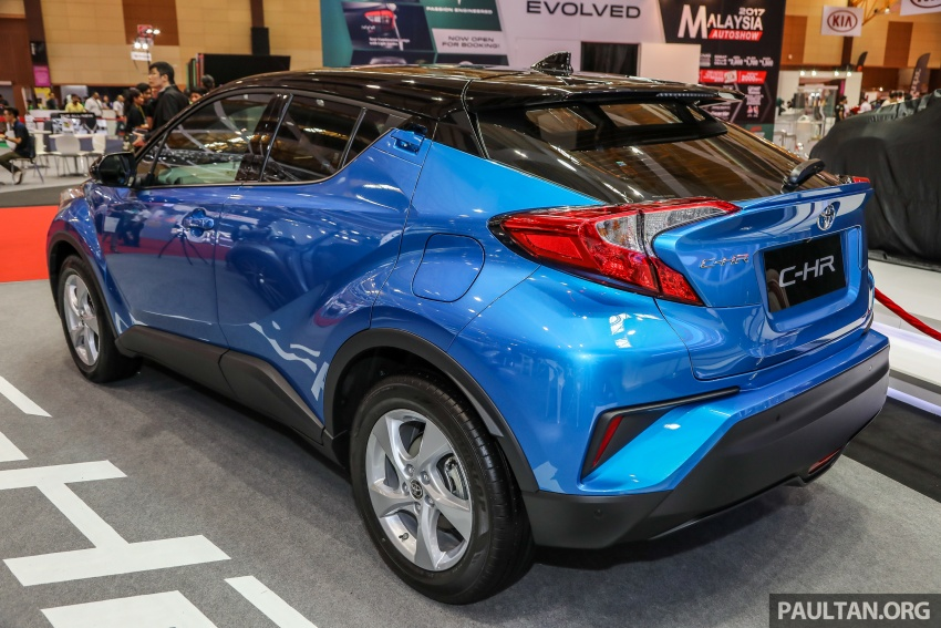Toyota C-HR Malaysian spec previewed – CBU from Thailand, 141 PS 1.8 litre NA engine, 2018 launch Image #735285