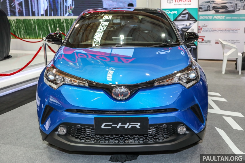 Toyota C-HR Malaysian spec previewed – CBU from Thailand, 141 PS 1.8 litre NA engine, 2018 launch Image #735288