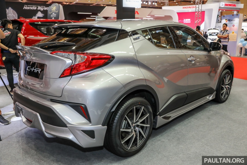 Toyota C-HR Malaysian spec previewed – CBU from Thailand, 141 PS 1.8 litre NA engine, 2018 launch Image #735271
