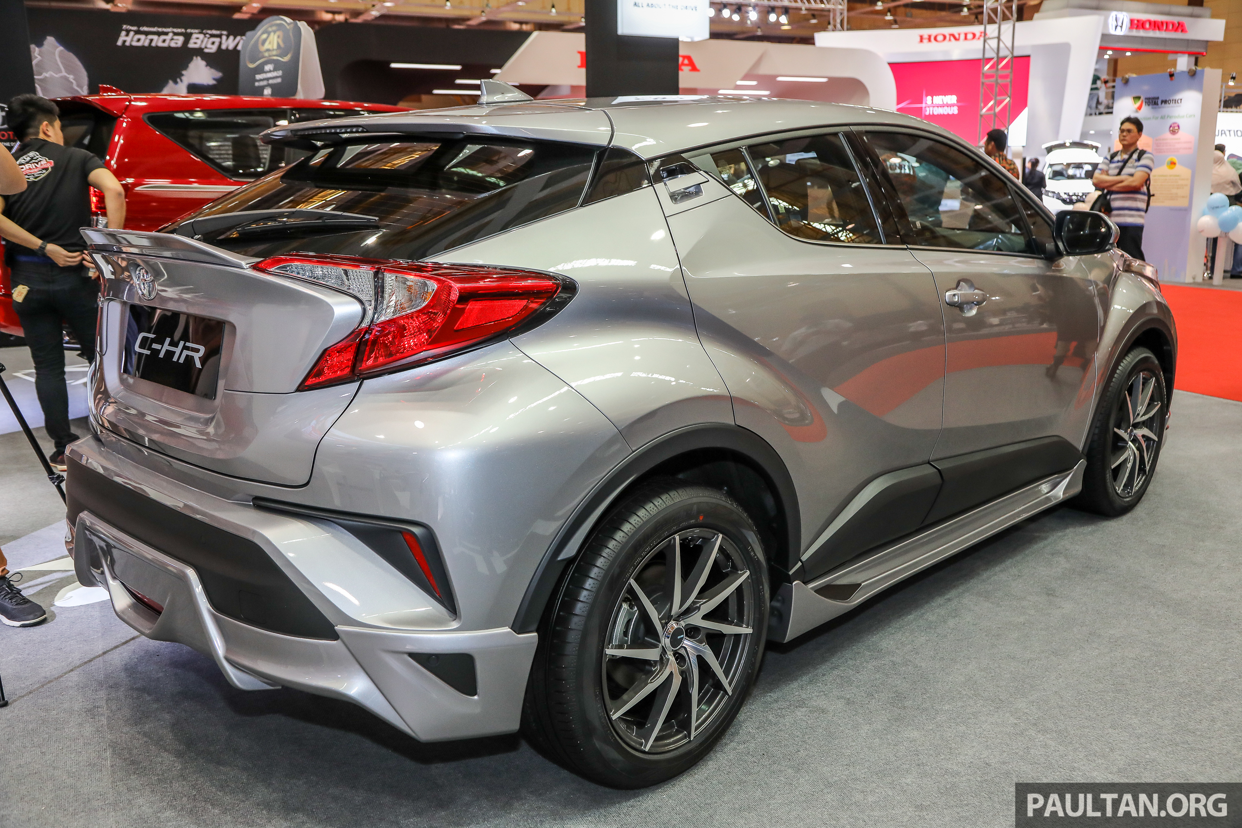 Chr Toyota Malaysia >> Toyota C-HR Malaysian spec previewed – CBU from Thailand, 141 PS 1.8 litre NA engine, 2018 ...