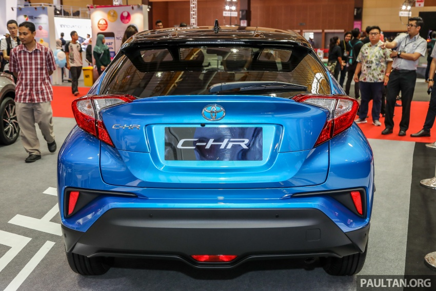 Toyota C-HR Malaysian spec previewed – CBU from Thailand, 141 PS 1.8 litre NA engine, 2018 launch Image #735331