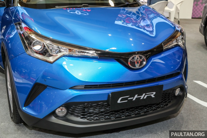 Toyota C-HR Malaysian spec previewed – CBU from Thailand, 141 PS 1.8 litre NA engine, 2018 launch Image #735259