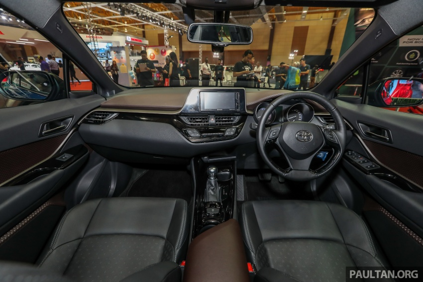 Toyota C-HR Malaysian spec previewed – CBU from Thailand, 141 PS 1.8 litre NA engine, 2018 launch Image #735264