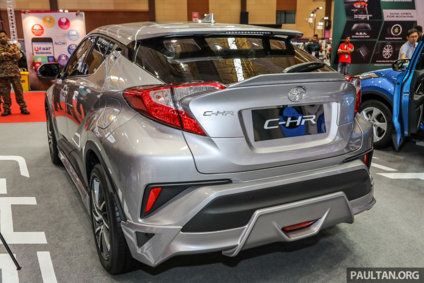 Toyota C-HR Malaysian spec previewed – CBU from Thailand, 141 PS 1.8 litre NA engine, 2018 launch Image #735267