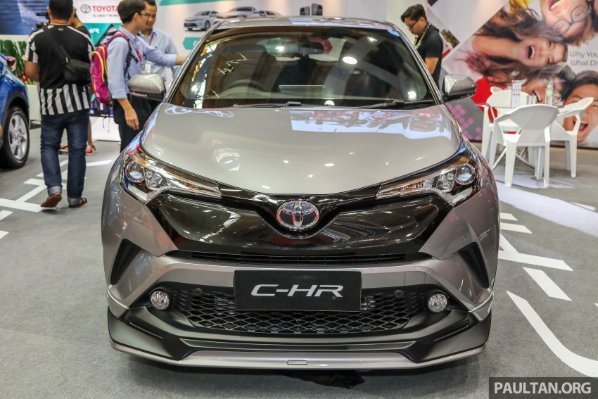 Toyota C-HR Malaysian spec previewed – CBU from Thailand, 141 PS 1.8 litre NA engine, 2018 launch Image #735269