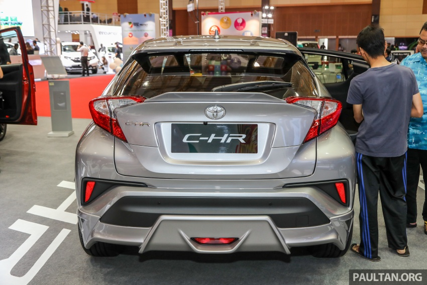 Toyota C-HR Malaysian spec previewed – CBU from Thailand, 141 PS 1.8 litre NA engine, 2018 launch Image #735274