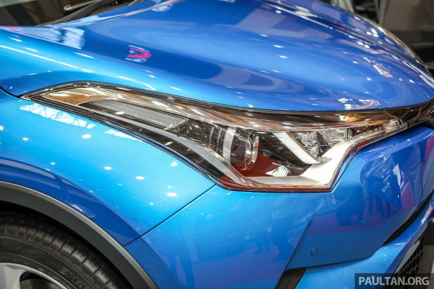 Toyota C-HR Malaysian spec previewed – CBU from Thailand, 141 PS 1.8 litre NA engine, 2018 launch Image #735293