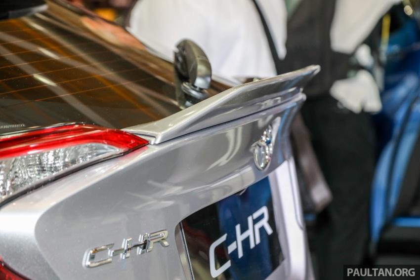 Toyota C-HR spesifikasi Malaysia dipertonton – enjin 1.8 liter NA 141 PS, sedikit perubahan pada ciri-ciri Image #735167