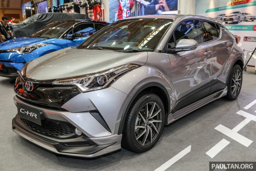 Toyota C-HR Malaysian spec previewed – CBU from Thailand, 141 PS 1.8 litre NA engine, 2018 launch Image #735227