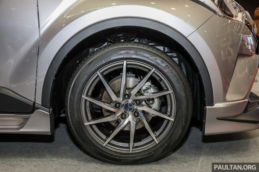 Toyota C-HR spesifikasi Malaysia dipertonton – enjin 1.8 liter NA 141 PS, sedikit perubahan pada ciri-ciri Image #735164