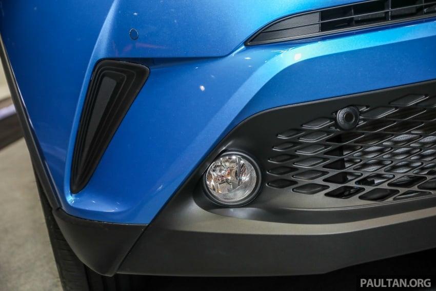 Toyota C-HR spesifikasi Malaysia dipertonton – enjin 1.8 liter NA 141 PS, sedikit perubahan pada ciri-ciri Image #735181