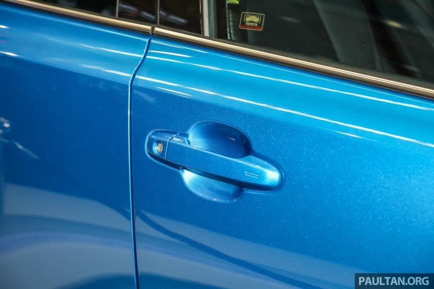 Toyota C-HR spesifikasi Malaysia dipertonton – enjin 1.8 liter NA 141 PS, sedikit perubahan pada ciri-ciri Image #735187
