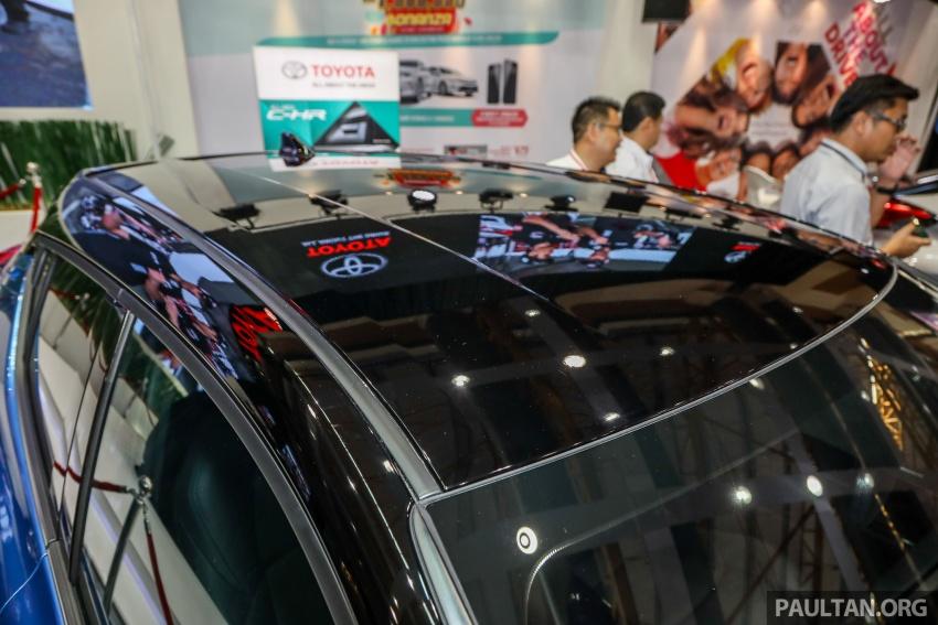 Toyota C-HR spesifikasi Malaysia dipertonton – enjin 1.8 liter NA 141 PS, sedikit perubahan pada ciri-ciri Image #735191