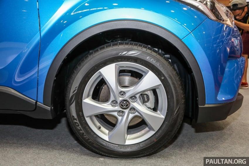 Toyota C-HR spesifikasi Malaysia dipertonton – enjin 1.8 liter NA 141 PS, sedikit perubahan pada ciri-ciri Image #735192