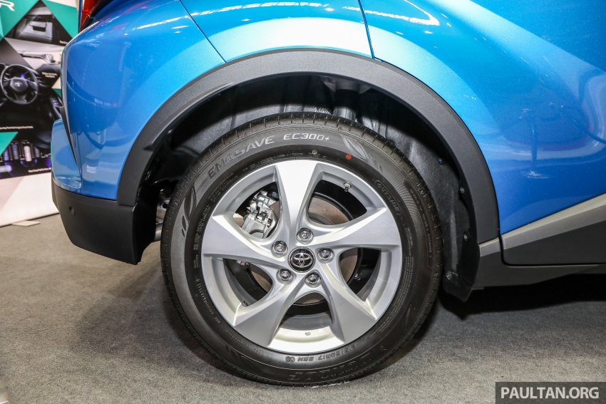 Toyota C-HR spesifikasi Malaysia dipertonton – enjin 1.8 liter NA 141 PS, sedikit perubahan pada ciri-ciri Image #735193