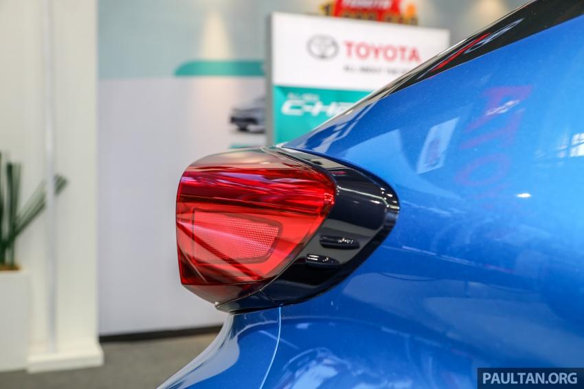 Toyota C-HR spesifikasi Malaysia dipertonton – enjin 1.8 liter NA 141 PS, sedikit perubahan pada ciri-ciri Image #735198