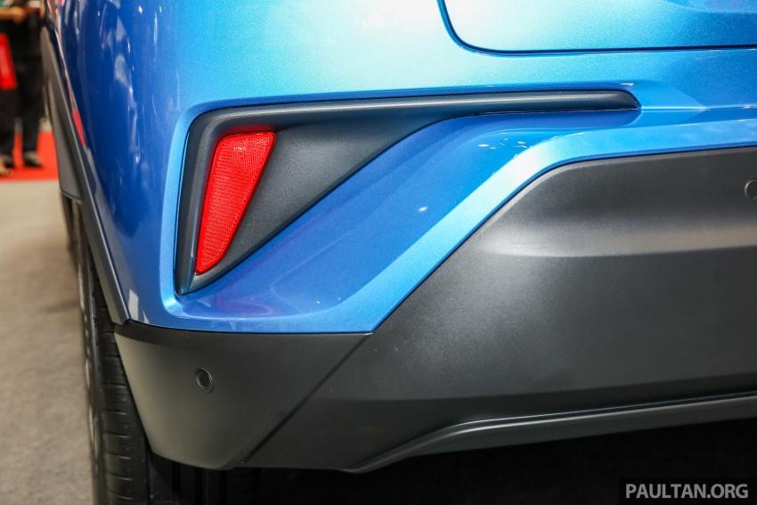 Toyota C-HR spesifikasi Malaysia dipertonton – enjin 1.8 liter NA 141 PS, sedikit perubahan pada ciri-ciri Image #735199