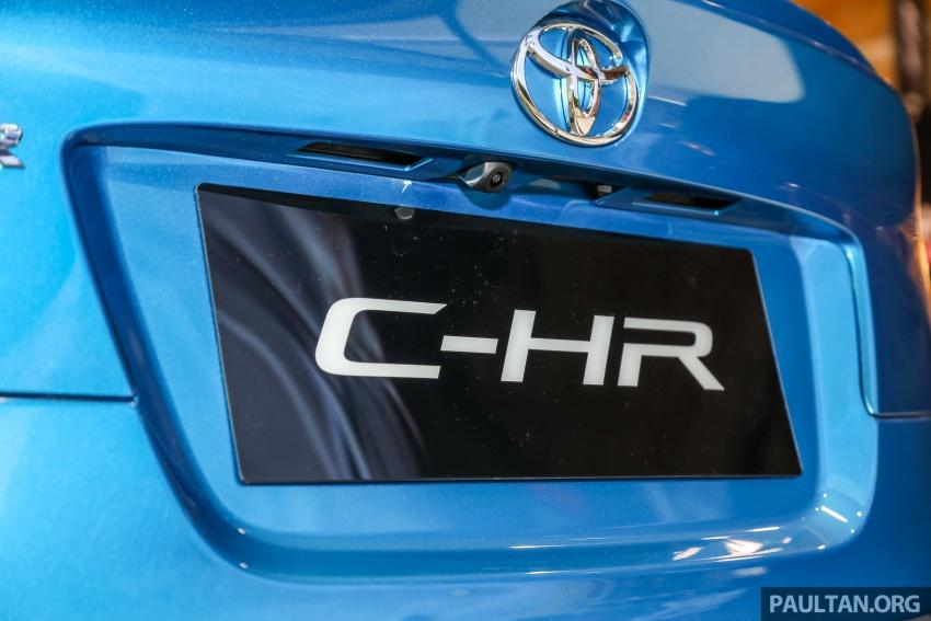 Toyota C-HR spesifikasi Malaysia dipertonton – enjin 1.8 liter NA 141 PS, sedikit perubahan pada ciri-ciri Image #735200