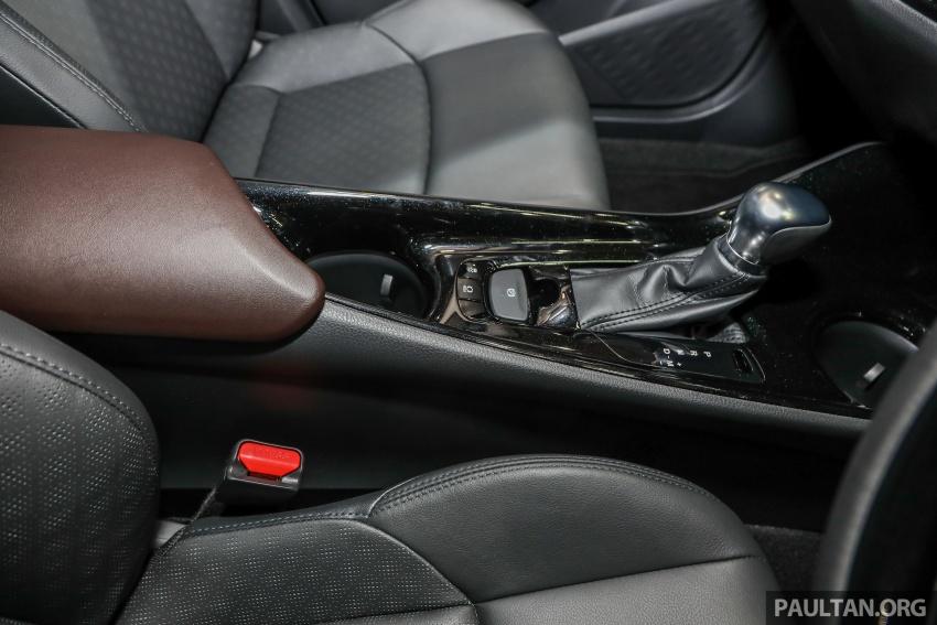 Toyota C-HR spesifikasi Malaysia dipertonton – enjin 1.8 liter NA 141 PS, sedikit perubahan pada ciri-ciri Image #735216
