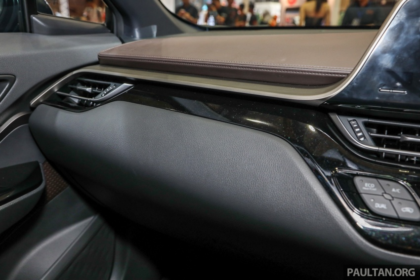 Toyota C-HR spesifikasi Malaysia dipertonton – enjin 1.8 liter NA 141 PS, sedikit perubahan pada ciri-ciri Image #735217