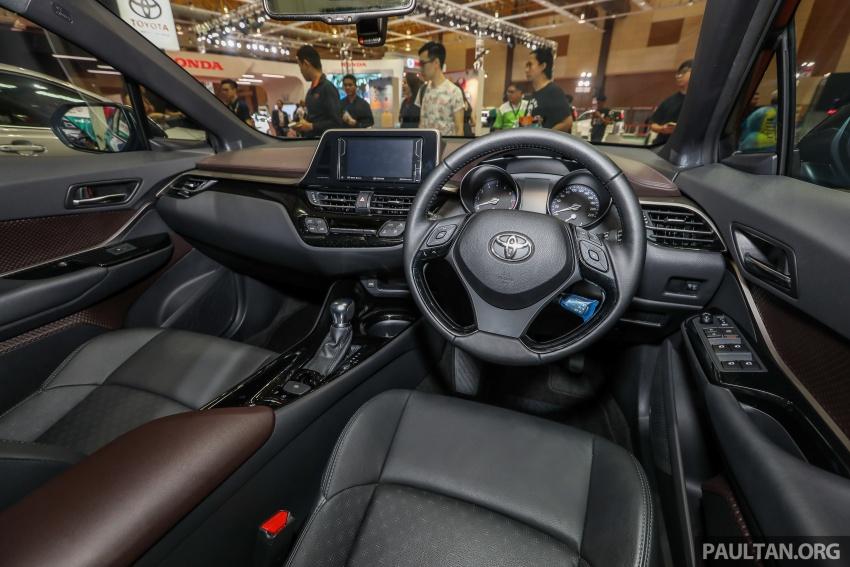 Toyota C-HR spesifikasi Malaysia dipertonton – enjin 1.8 liter NA 141 PS, sedikit perubahan pada ciri-ciri Image #735221