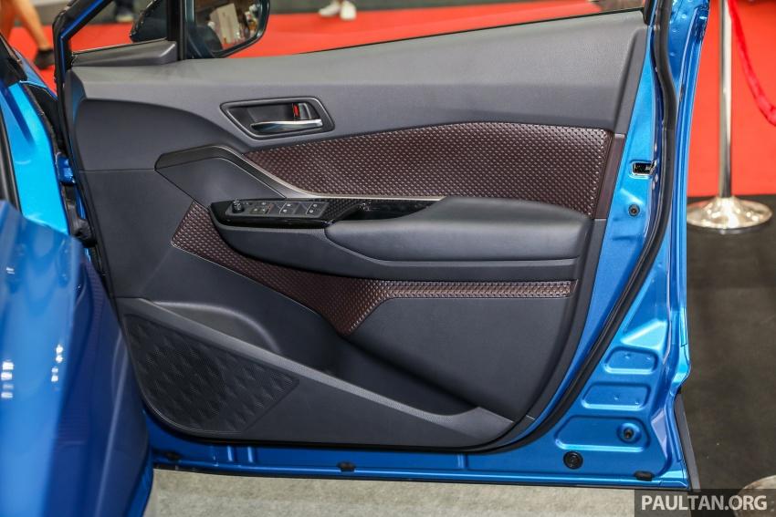 Toyota C-HR spesifikasi Malaysia dipertonton – enjin 1.8 liter NA 141 PS, sedikit perubahan pada ciri-ciri Image #735229