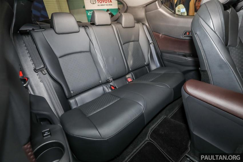 Toyota C-HR spesifikasi Malaysia dipertonton – enjin 1.8 liter NA 141 PS, sedikit perubahan pada ciri-ciri Image #735234