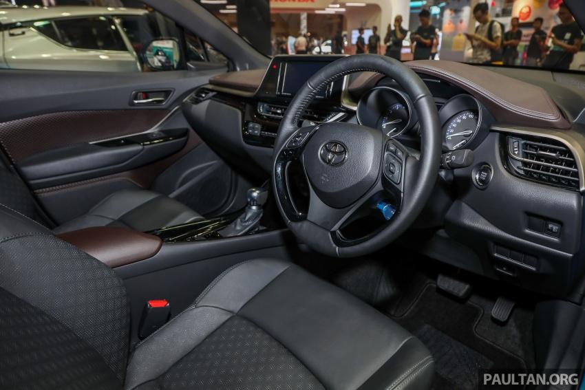 Toyota C-HR spesifikasi Malaysia dipertonton – enjin 1.8 liter NA 141 PS, sedikit perubahan pada ciri-ciri Image #735208