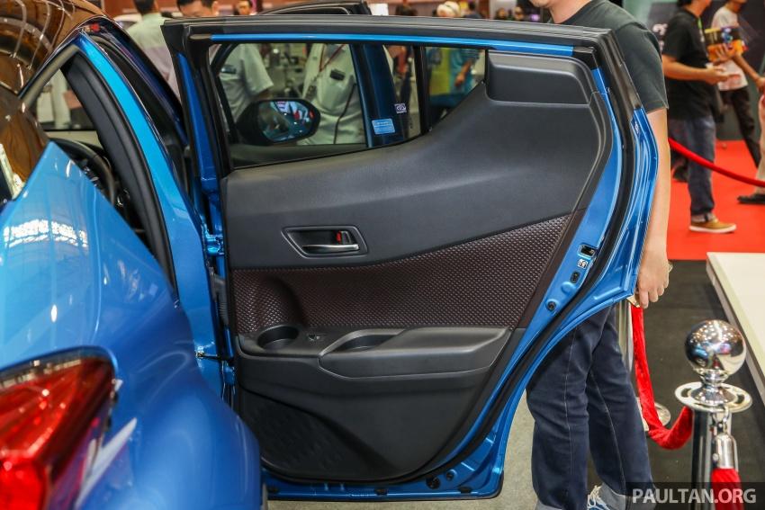 Toyota C-HR spesifikasi Malaysia dipertonton – enjin 1.8 liter NA 141 PS, sedikit perubahan pada ciri-ciri Image #735238