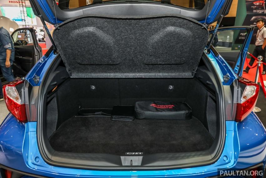 Toyota C-HR spesifikasi Malaysia dipertonton – enjin 1.8 liter NA 141 PS, sedikit perubahan pada ciri-ciri Image #735239