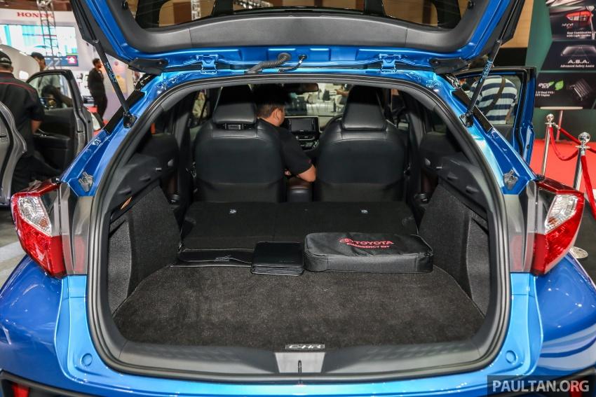 Toyota C-HR spesifikasi Malaysia dipertonton – enjin 1.8 liter NA 141 PS, sedikit perubahan pada ciri-ciri Image #735240