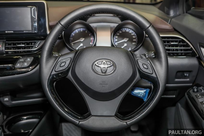 Toyota C-HR spesifikasi Malaysia dipertonton – enjin 1.8 liter NA 141 PS, sedikit perubahan pada ciri-ciri Image #735209