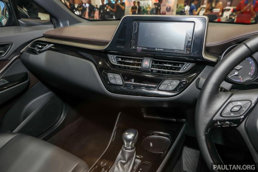Toyota C-HR spesifikasi Malaysia dipertonton – enjin 1.8 liter NA 141 PS, sedikit perubahan pada ciri-ciri Image #735211