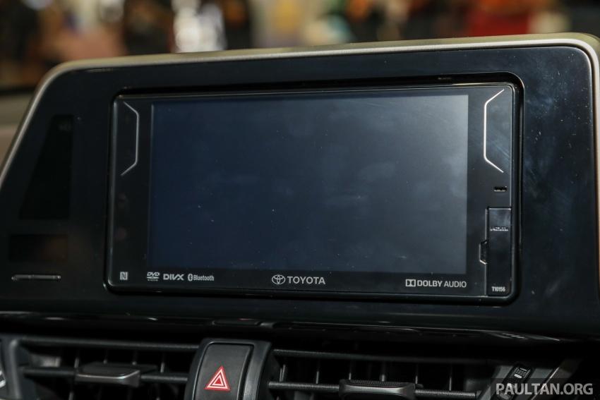 Toyota C-HR spesifikasi Malaysia dipertonton – enjin 1.8 liter NA 141 PS, sedikit perubahan pada ciri-ciri Image #735212