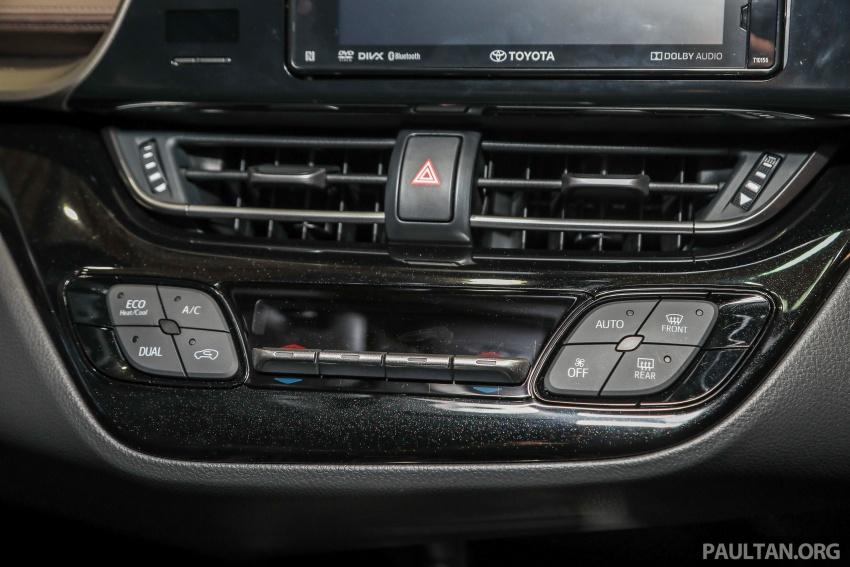 Toyota C-HR spesifikasi Malaysia dipertonton – enjin 1.8 liter NA 141 PS, sedikit perubahan pada ciri-ciri Image #735213
