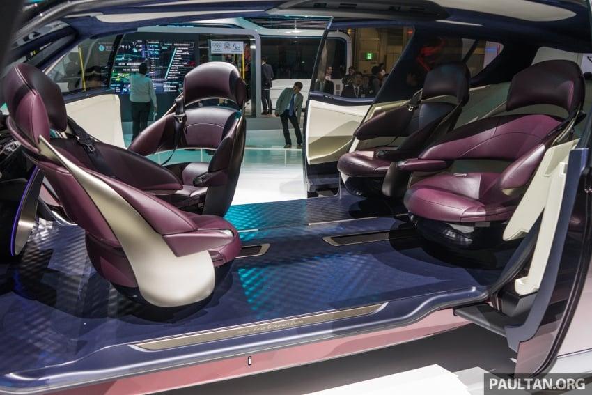 Tokyo 2017: Toyota Fine-Comfort Ride showcases new hydrogen technology – six seats, 1,000 km range Image #732092