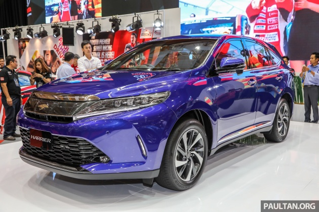 2018 Toyota Harrier Malaysia Prices Announced 2 0t Premium At
