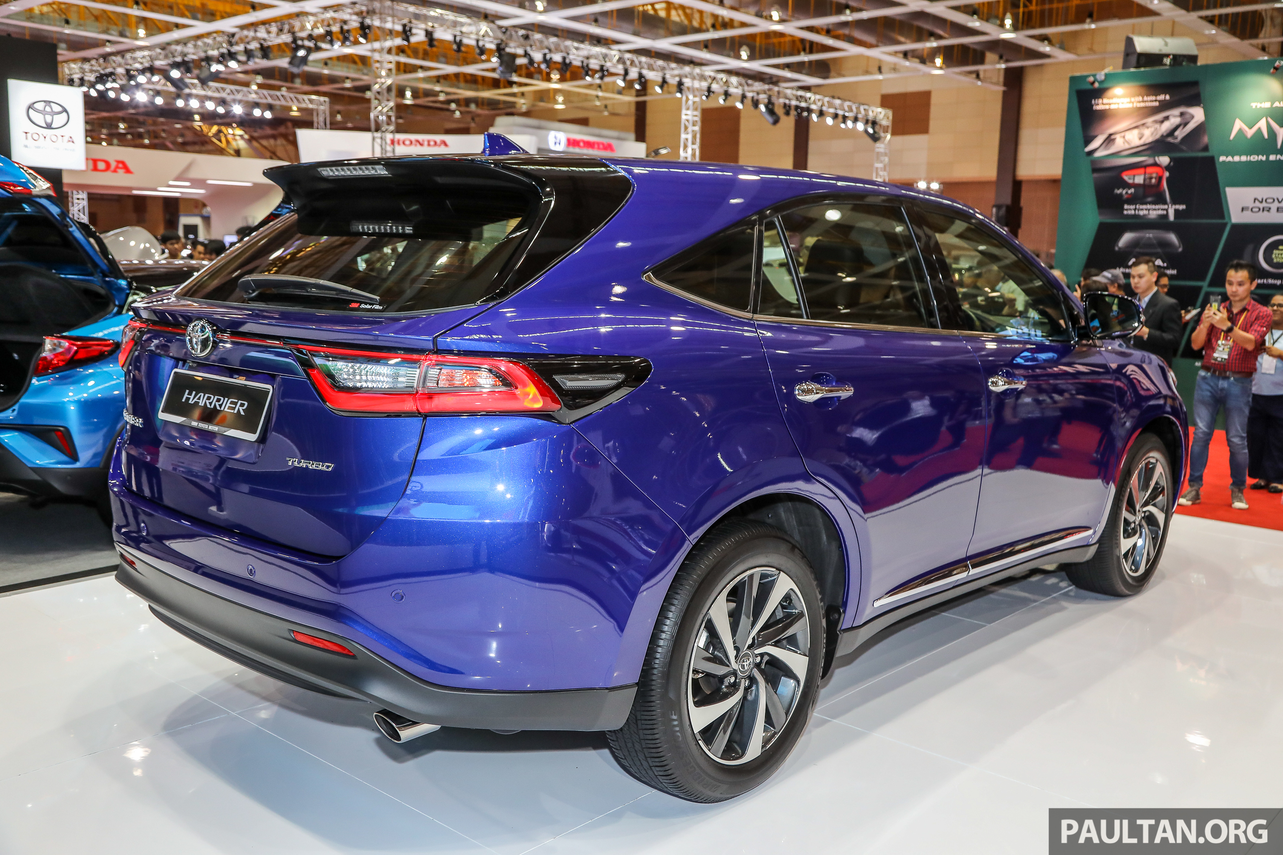 Gallery 2018 Toyota Harrier In Malaysia Facelift Model