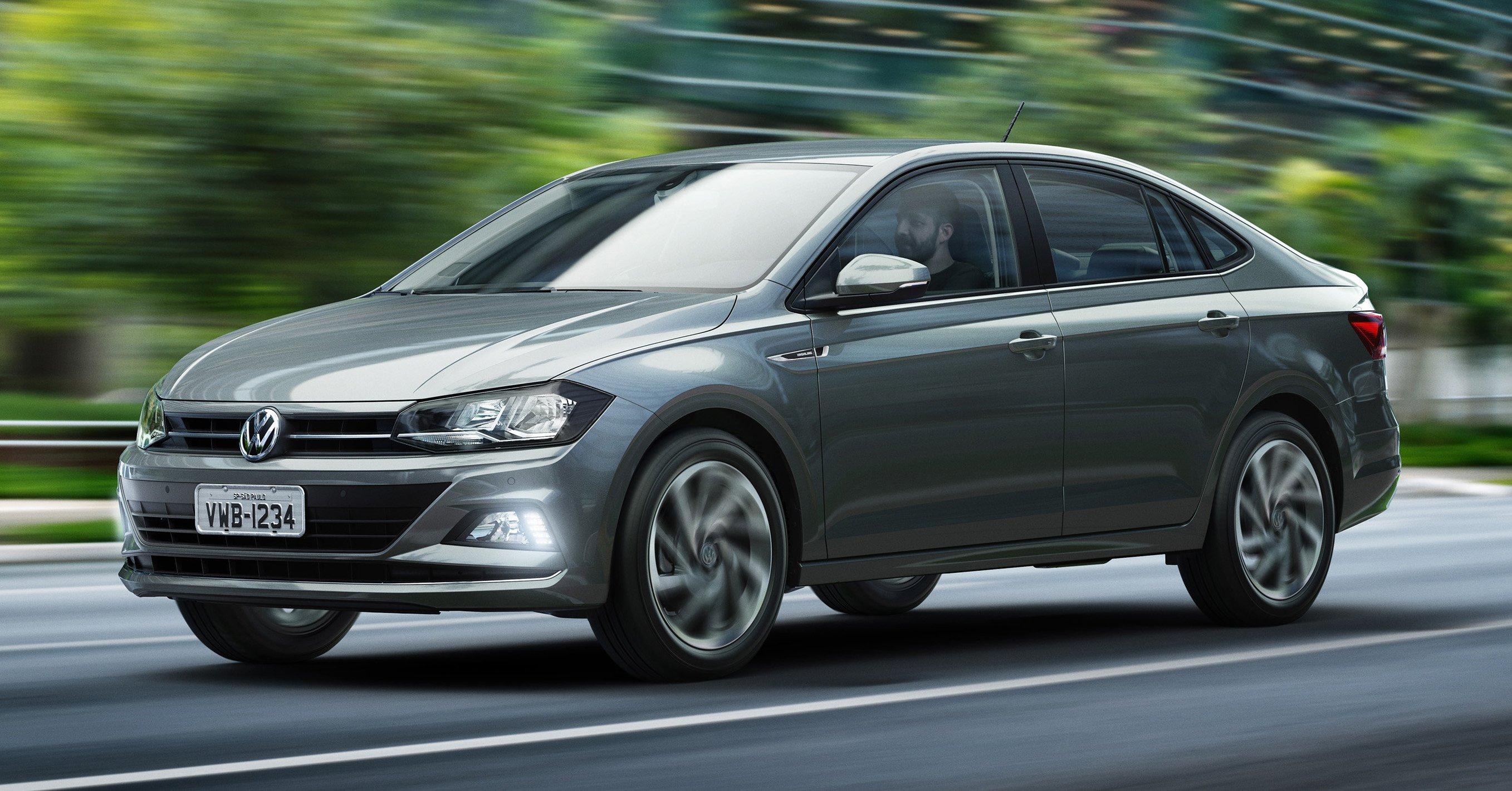 Volkswagen Virtus New Polo Sedan Debuts In Brazil Image