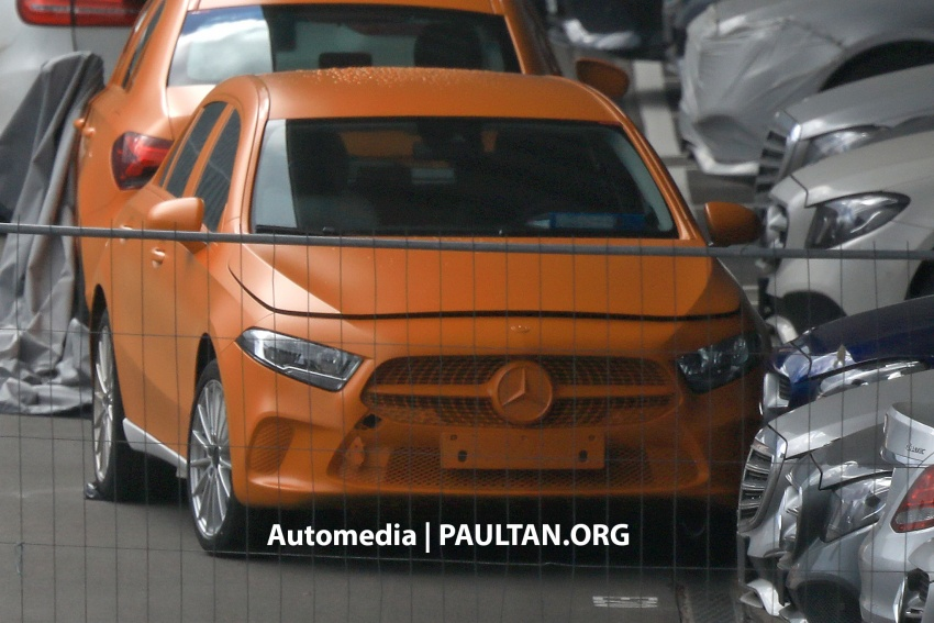 SPIED: 2018 Mercedes-Benz A-Class undisguised! Image #732028