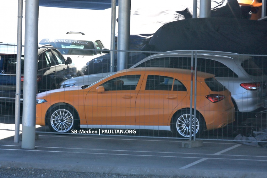 SPIED: 2018 Mercedes-Benz A-Class undisguised! Image #732016