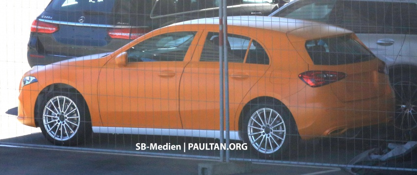 SPIED: 2018 Mercedes-Benz A-Class undisguised! Image #732017