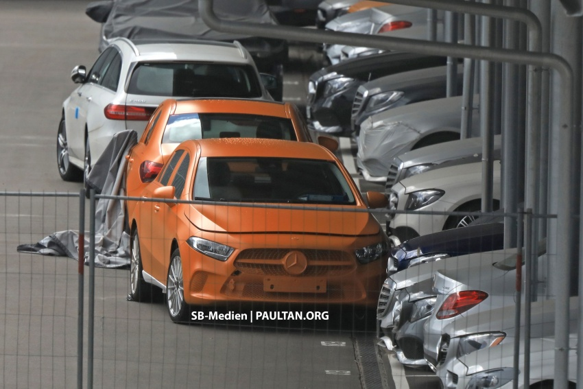 SPIED: 2018 Mercedes-Benz A-Class undisguised! Image #732020