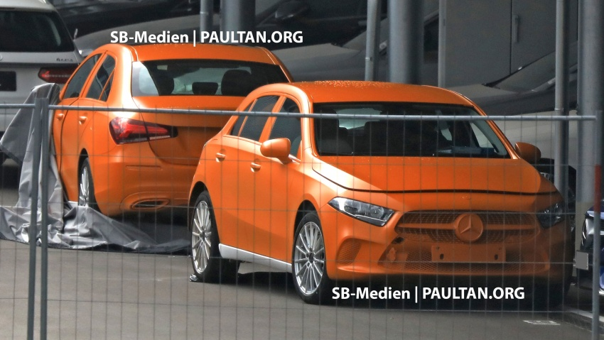 SPIED: 2018 Mercedes-Benz A-Class undisguised! Image #732021