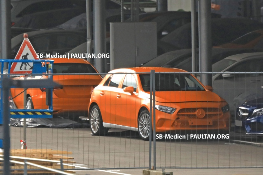 SPIED: 2018 Mercedes-Benz A-Class undisguised! Image #732022