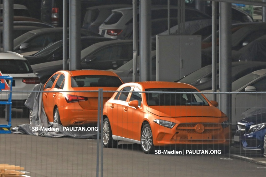 SPIED: 2018 Mercedes-Benz A-Class undisguised! Image #732023