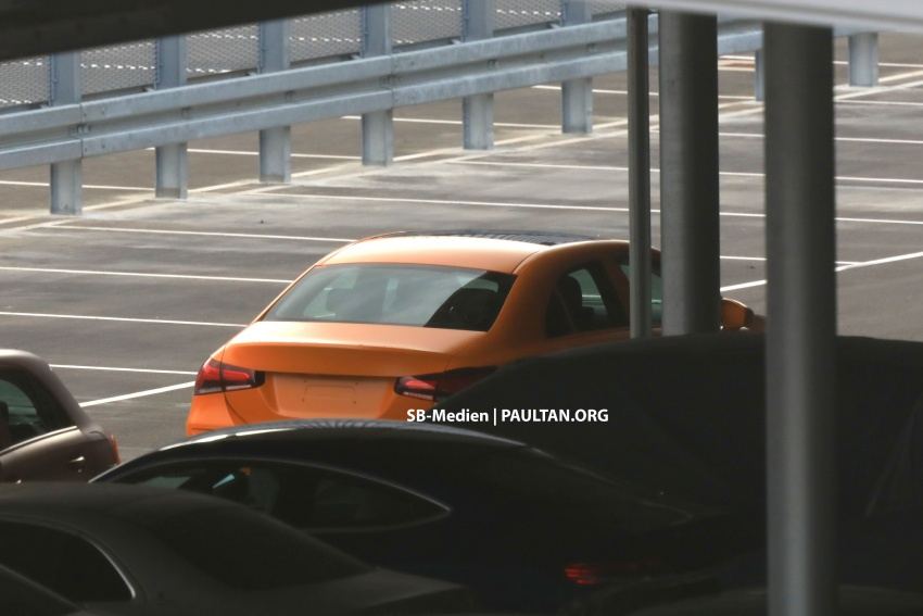 SPIED: 2018 Mercedes-Benz A-Class undisguised! Image #732025