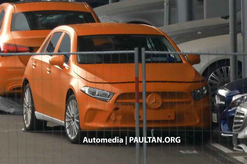 SPIED: 2018 Mercedes-Benz A-Class undisguised! Image #732029