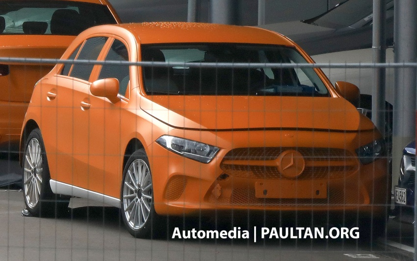SPIED: 2018 Mercedes-Benz A-Class undisguised! Image #732030